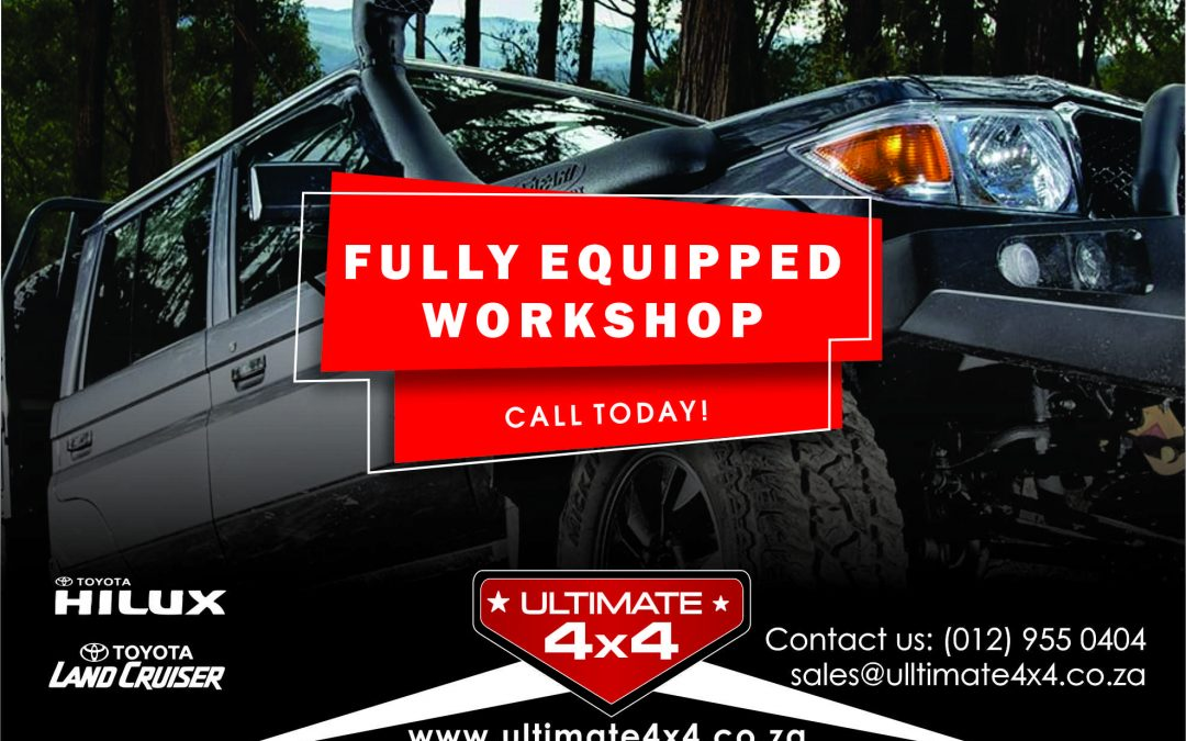 Fully Equipped Workshop